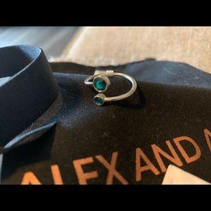 Alex and Ani Swarovski Birth Month Ring Wrap (Dec)